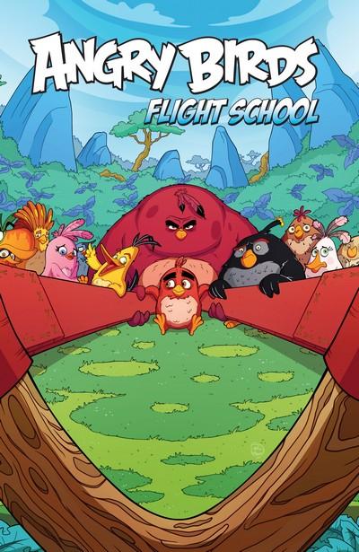 Angry Birds Comics – Flight School (TPB) (2017)