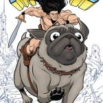 Battlepug Vol. 1 – War on Christmas (TPB) (2019)