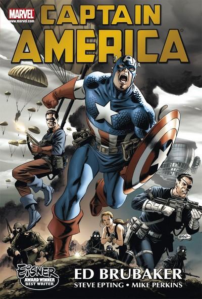 Captain America Omnibus Vol. 1 – 5 (Fan Made) (2007-2015)