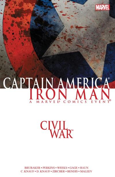 Civil War – Captain America – Iron Man (TPB) (2016)