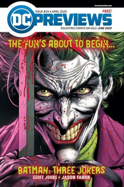 DC Previews #24 (Apr for June 2020)