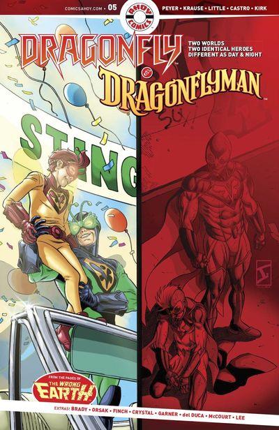 Dragonfly And Dragonflyman #5 (2020)