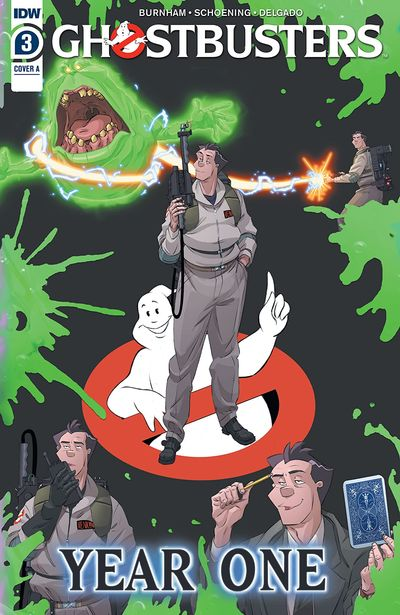 Ghostbusters – Year One #3 (2020)