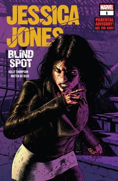 Jessica Jones – Blind Spot #1 – 6 (2020)
