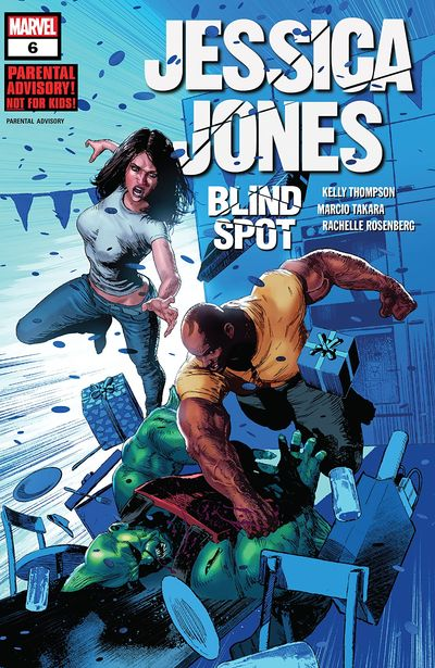 Jessica Jones – Blind Spot #6 (2020)