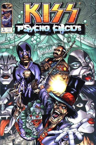 KISS – Psycho Circus #1 – 31 (1997-2000)