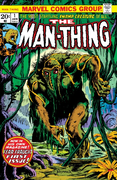 Man-Thing Vol. 1 #1 – 22 (1974-1975)