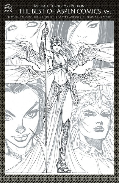 Michael Turner Art Edition – The Best of Aspen Comics #1 (2020)