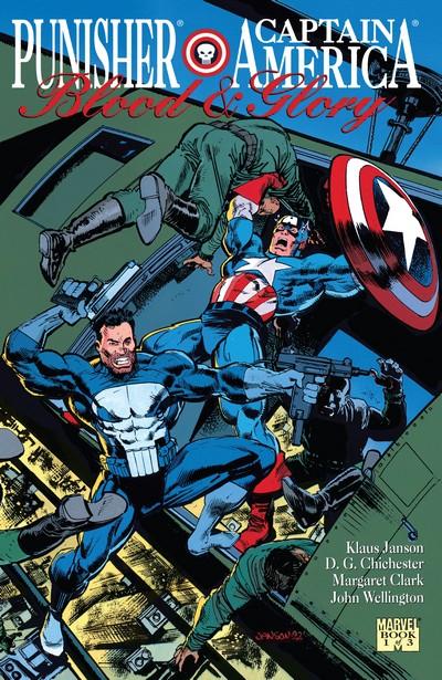 Punisher – Captain America – Blood & Glory #1 – 3 (1992)