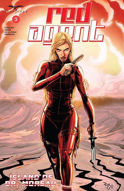 Red Agent – Island Of Dr. Moreau #3 (2020)