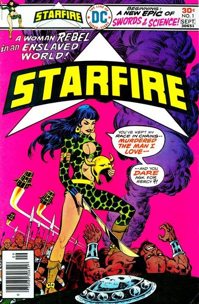 Starfire #1 – 8 (1976-1977)