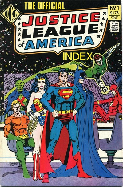 The Official Justice League of America Index #1 – 8 (1986-1987)
