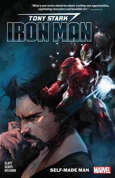 Tony Stark – Iron Man Vol. 1 – Self-Made Man (TPB) (2019)
