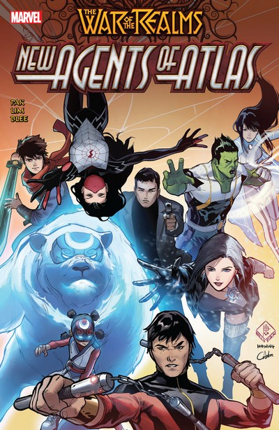 War of the Realms – New Agents of Atlas (TPB) (2019)
