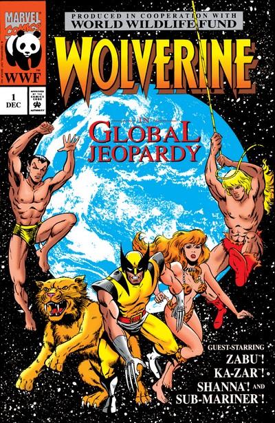 Wolverine – Global Jeopardy #1 (1993)