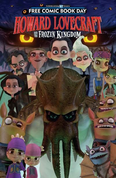 Arcana Studio Presents 2016 FCBD Ed – Howard Lovecraft and the Frozen Kingdom (2016)