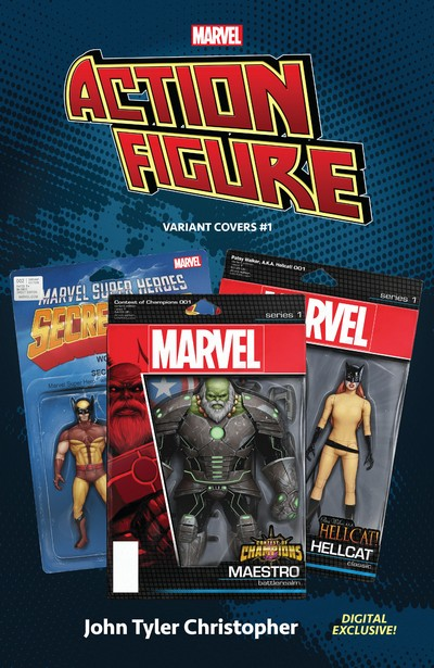 Marvel – The Action Figure Variant Covers #1 (2020)