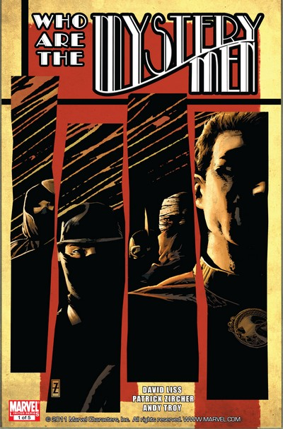 Mystery Men #1 – 5 (2011)