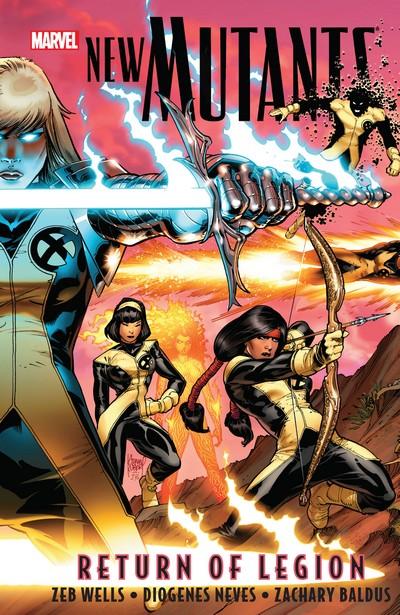 New Mutants Vol. 1 – Return of Legion (TPB) (2009)