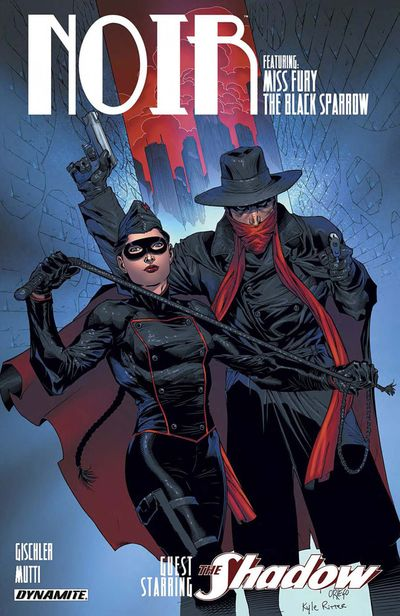 Noir Vol. 1 – The Mohawk Templar (TPB) (2014)