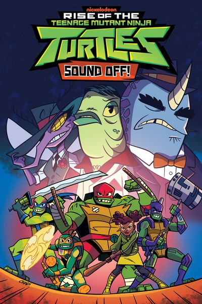 Rise of the Teenage Mutant Ninja Turtles – Sound Off! (TPB) (2020)