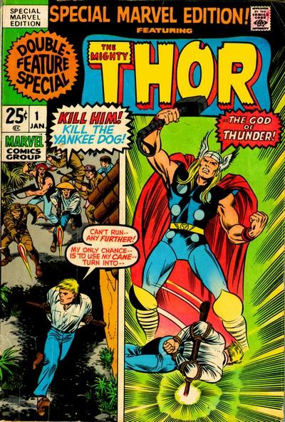 Special Marvel Edition #1 – 16 (1971-1964)