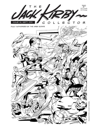The Jack Kirby Collector #1 – 78 (1994-2020)