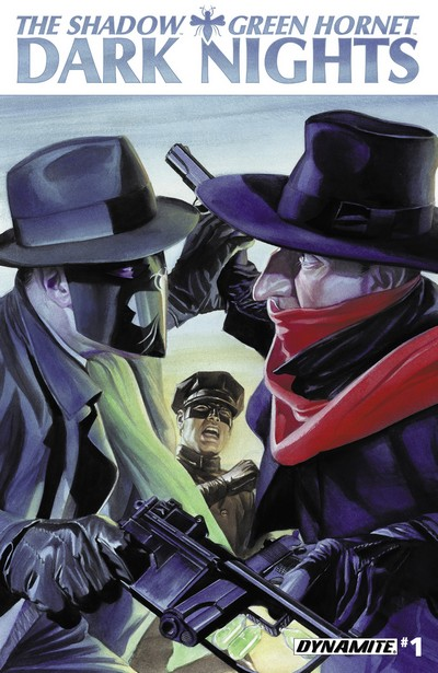 The Shadow – Green Hornet – Dark Nights #1 – 5 (2013)