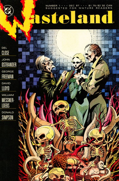 Wasteland #1 – 18 (1987-1989)