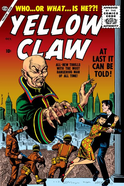 Yellow Claw #1 – 4 (1956-1957)