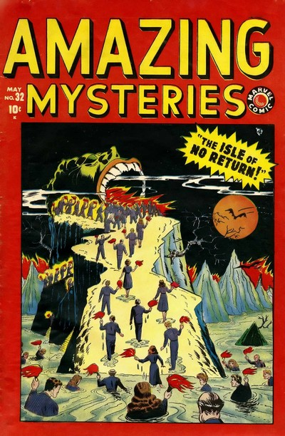 Amazing Mysteries #32 – 35 (1949-1950)