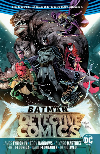 Batman – Detective Comics – Rebirth Deluxe Edition Book 1 (2017)