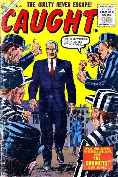 Caught #1 – 5 (1956-1957)