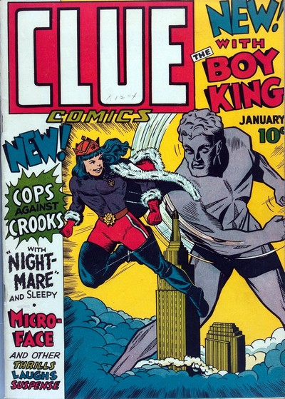 Clue Comics + Real Clue Crime Stories #1 – 87 (1943-1953)