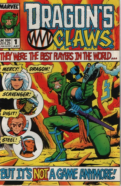 Dragon's Claws #1 – 10 (1988-1989)