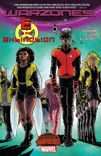 E Is For Extinction – Warzones! (TPB) (2016)