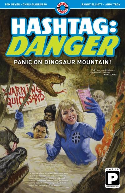Hashtag – Danger – Panic on Dinosaur Mountain! (TPB) (2019)