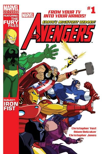 Marvel Universe Avengers – Earth's Mightiest Heroes #1 – 18 (2012-2013)