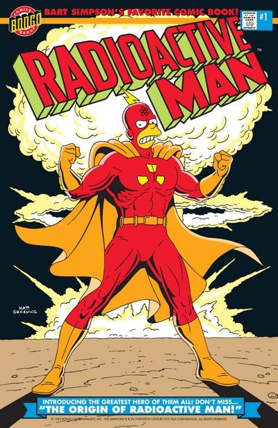 Radioactive Man #1 – 6 + 711 (1993-1994 + 2007)