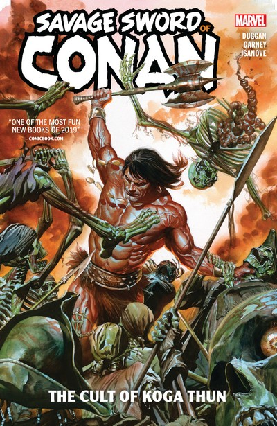 Savage Sword of Conan Vol. 1 – The Cult of Koga Thun (TPB) (2019)