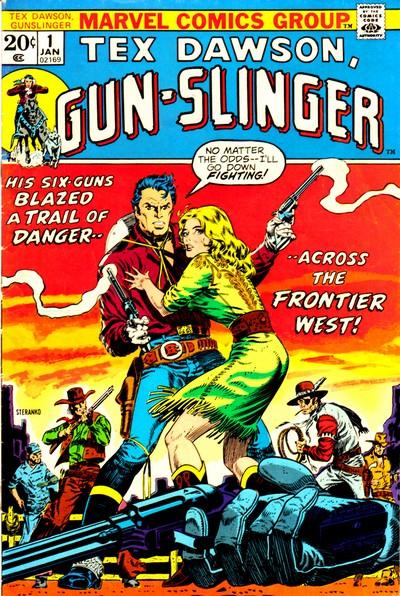 Tex Dawson Gun-Slinger + Gun-Slinger #1 – 3 (1973)