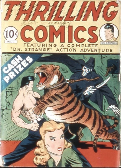 Thrilling Comics #1 – 80 (1940-1951)