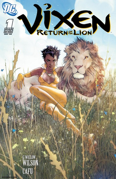 Vixen – Return of the Lion #1 – 5 (2008-2009)