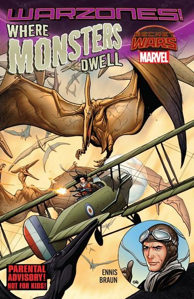 Where Monsters Dwell – The Phantom Eagle Flies The Savage Skies (TPB) (2015)