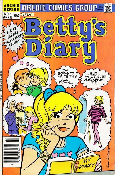 Betty's Diary #1 – 40 (1987-1991)