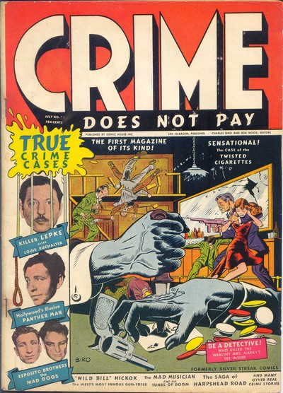 Crime Does Not Pay #22 – 144 (1942-1955)