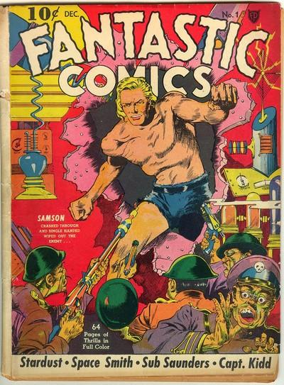 Fantastic Comics #1 – 24 (1940-1941 + 2008)