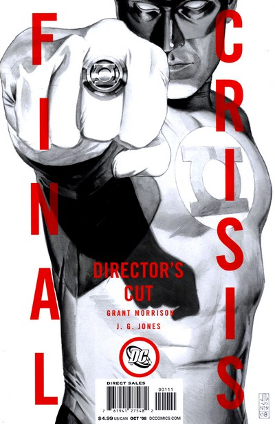 Final Crisis #1 – Director's Cut (2008)