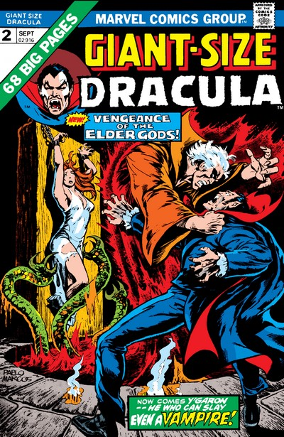 Giant-Size Chillers + Dracula #1 – 5 (1974-1975)
