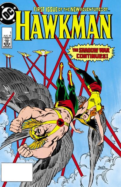 Hawkman Vol. 2 #1 – 17 (1986-1987)